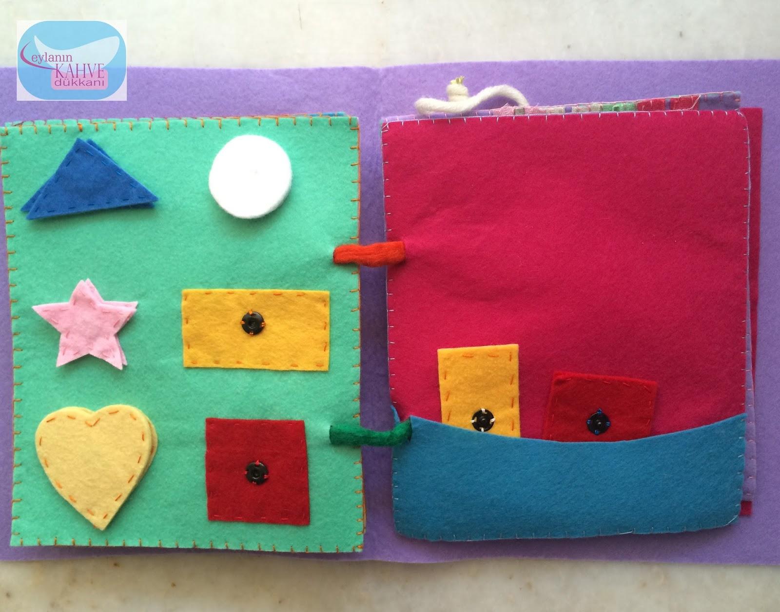 Evde Kumaş Çocuk Kitabı Nasıl Yapılır