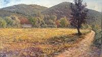 Cambio climático y la pintura de bosques y campos