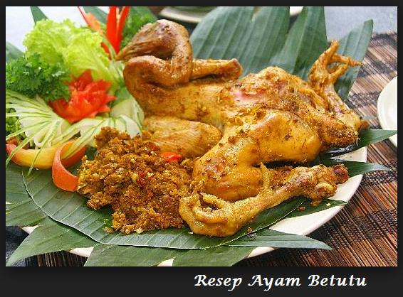 Resep Ayam Betutu Pedas Gurih