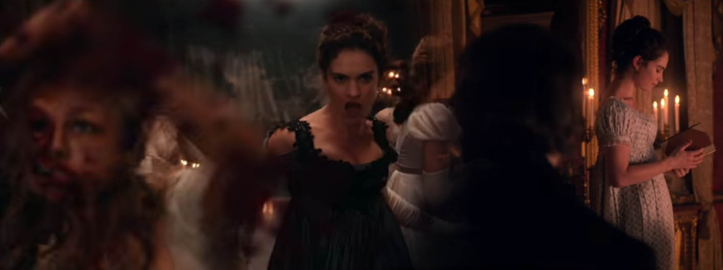 Pride and Prejudice and Zombies 2016 horror comedy romantic film adaptation of the 2009 novel by Seth Grahame-Smith parodying Jane Austen's 1813 classic novel