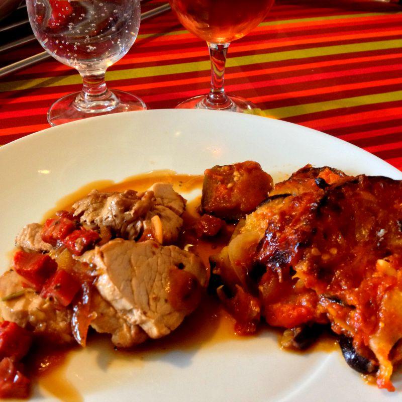 La cuisine claudine filet mignon de porc au chorizo et - Cuisine filet mignon de porc ...