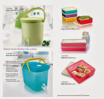 DISPENSER DAN COOLER TUPPERWARE