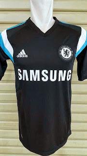 gambar jersey chelsea prematch warna hitam terbaru musim 2014/2015 kualitas grade ori, harga murah, grosir