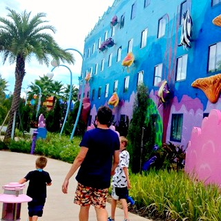 More Questions for Morgan Prince | Morgan's Milieu: Three boys walking through Walt Disney World