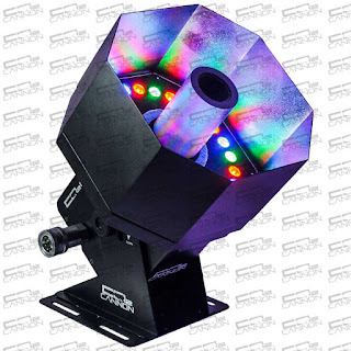 The MEGA LED CO2 Cannon lets you create colorful plumes of smoke for your stage production or event.  Buy it now only at co2cannon.com