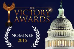 ¡Finalista en los Victory Awards!