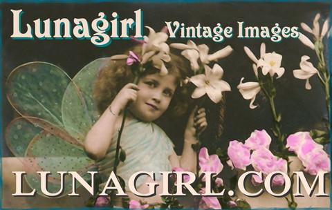 Luna Girl Vintage Images