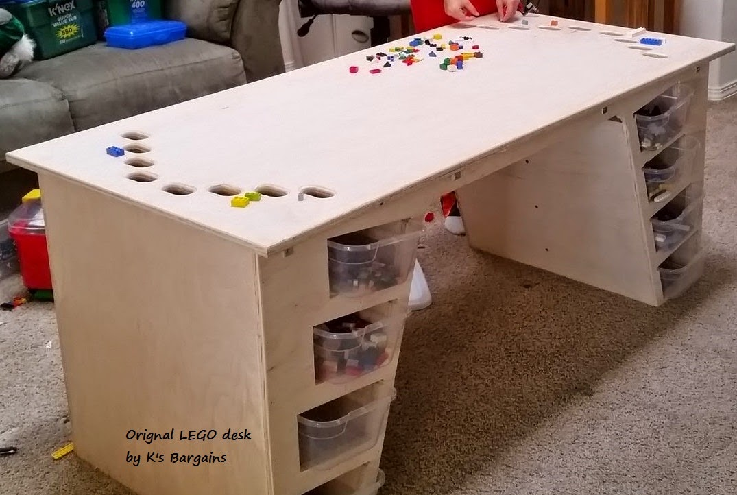K\'s Bargains: The Most Amazing LEGO Desk Ever