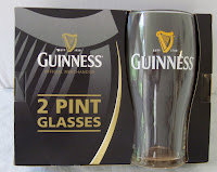 Guinness pint glasses