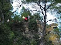 Pujant al mirador natural del Puig Montmany