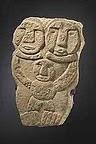 Piedra grabada mapuche