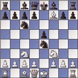 Partida de ajedrez Barrababe vs Vivas Font, Memorial Puig y Puig 1950, posición después de 5.Axf7+