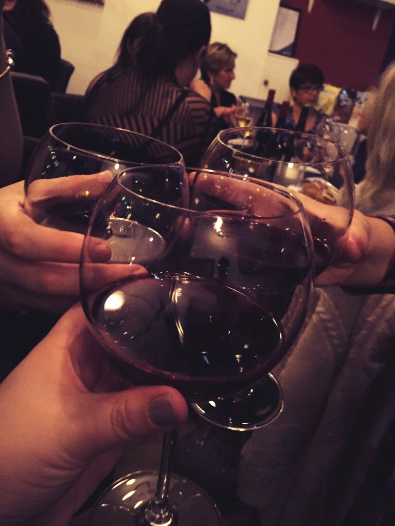 Veeno red wine cheers