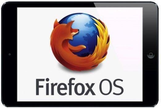 Tablet con el sistema operativo Firefox OS