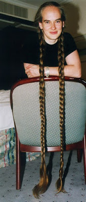 extremly long braids plaits