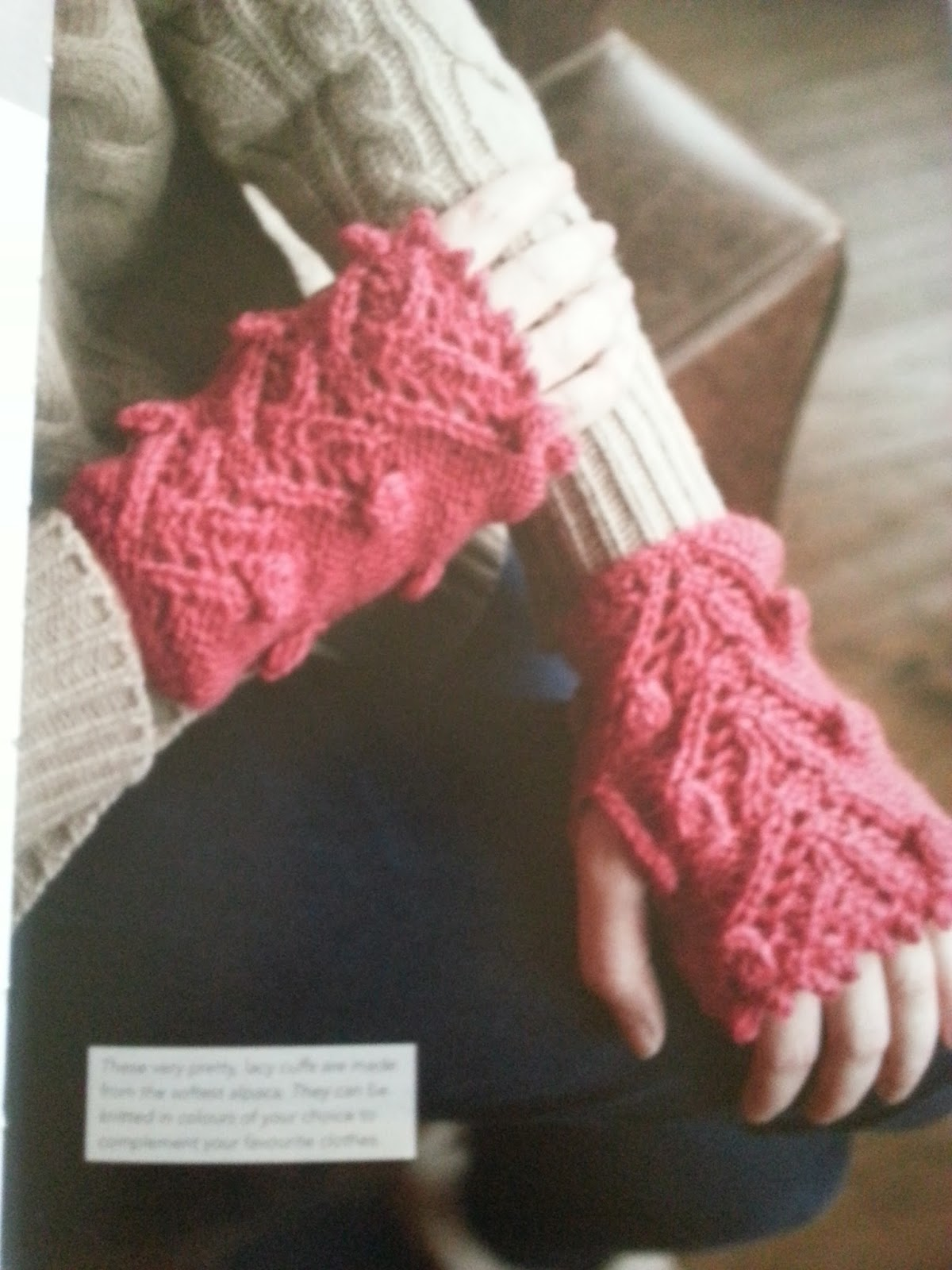 Wrist Warmers Knitting Pattern Easy : 20 To Make ~ Knitted Wrist Warmers ~ Book Review ~ Crochet Addict UK
