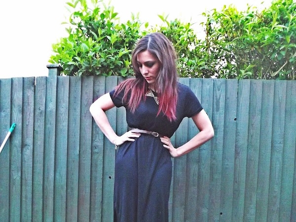 What Cat Wore: Side Split Tee Maxi