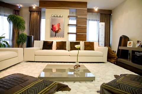 You Can Also Make Use Of Combination Of Color Schemes In Living Room  Interior Decorating.