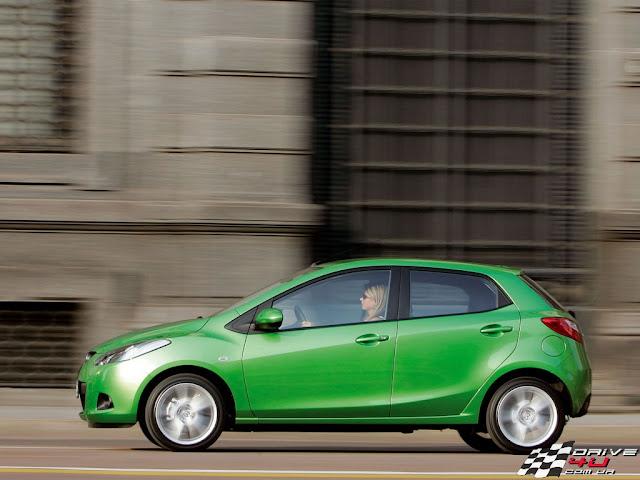 Side image of new Mazda 2