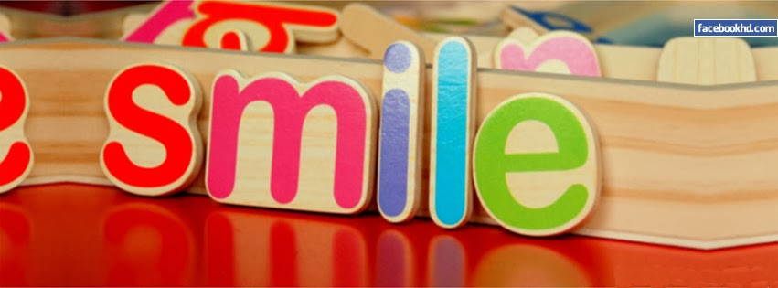 Smile Logos 3D Facebook Cover Image
