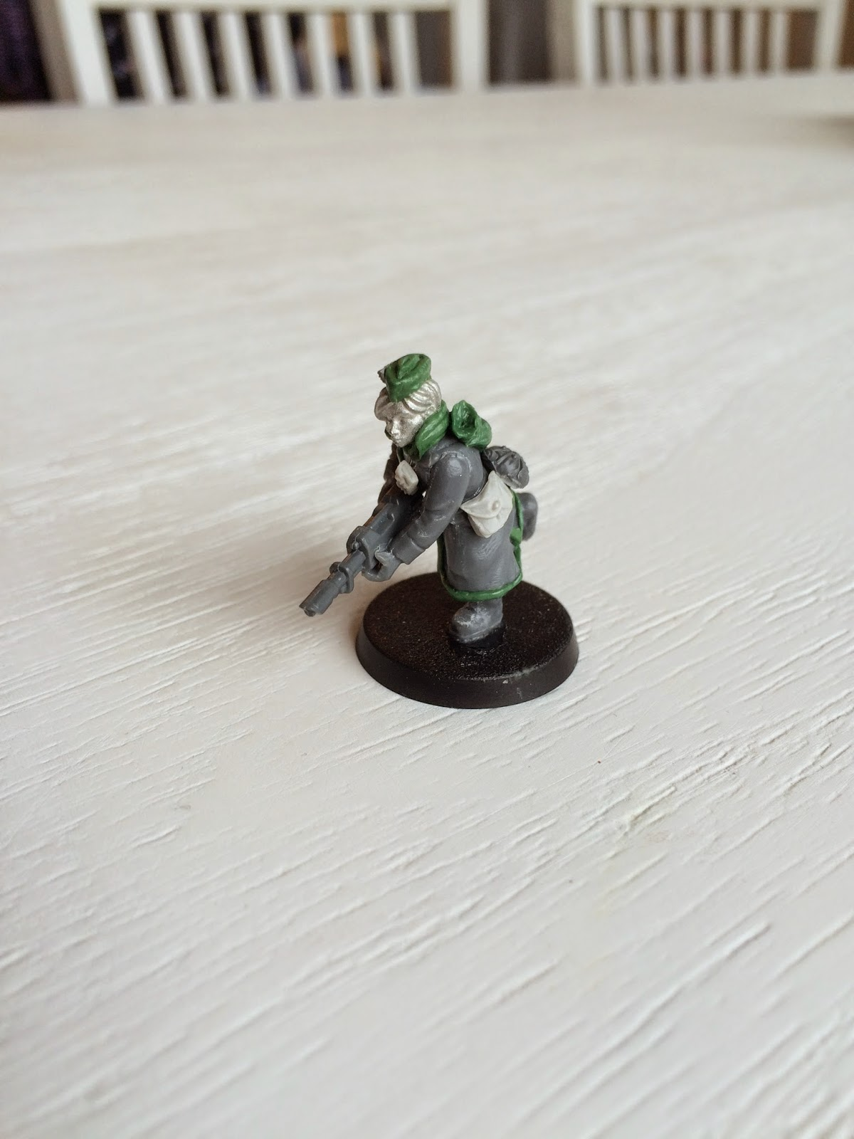 Female Valhallan Trooper