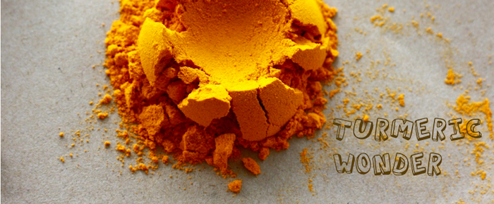 what color is turmeric powder