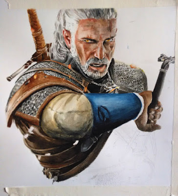 Pintando The Witcher III
