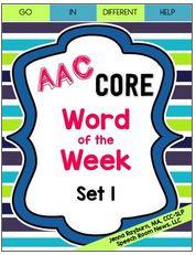 https://www.teacherspayteachers.com/Product/AAC-Core-Word-of-the-Week-Set-1-1925411