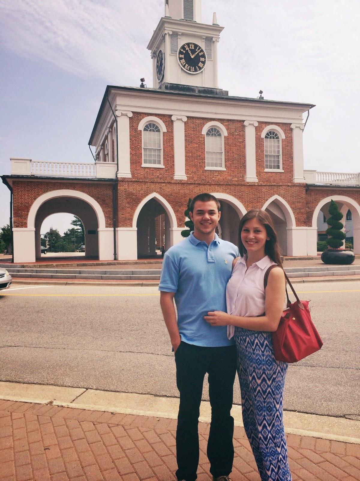 Fayetteville, Haymont Market House, Longchamp, palazzo pants