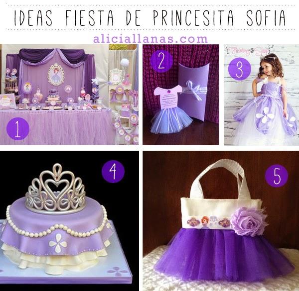 Ideas Para Fiesta De Sofia the First