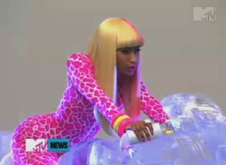 nicki minaj super bass makeup. makeup hot hair Tags: Nicki