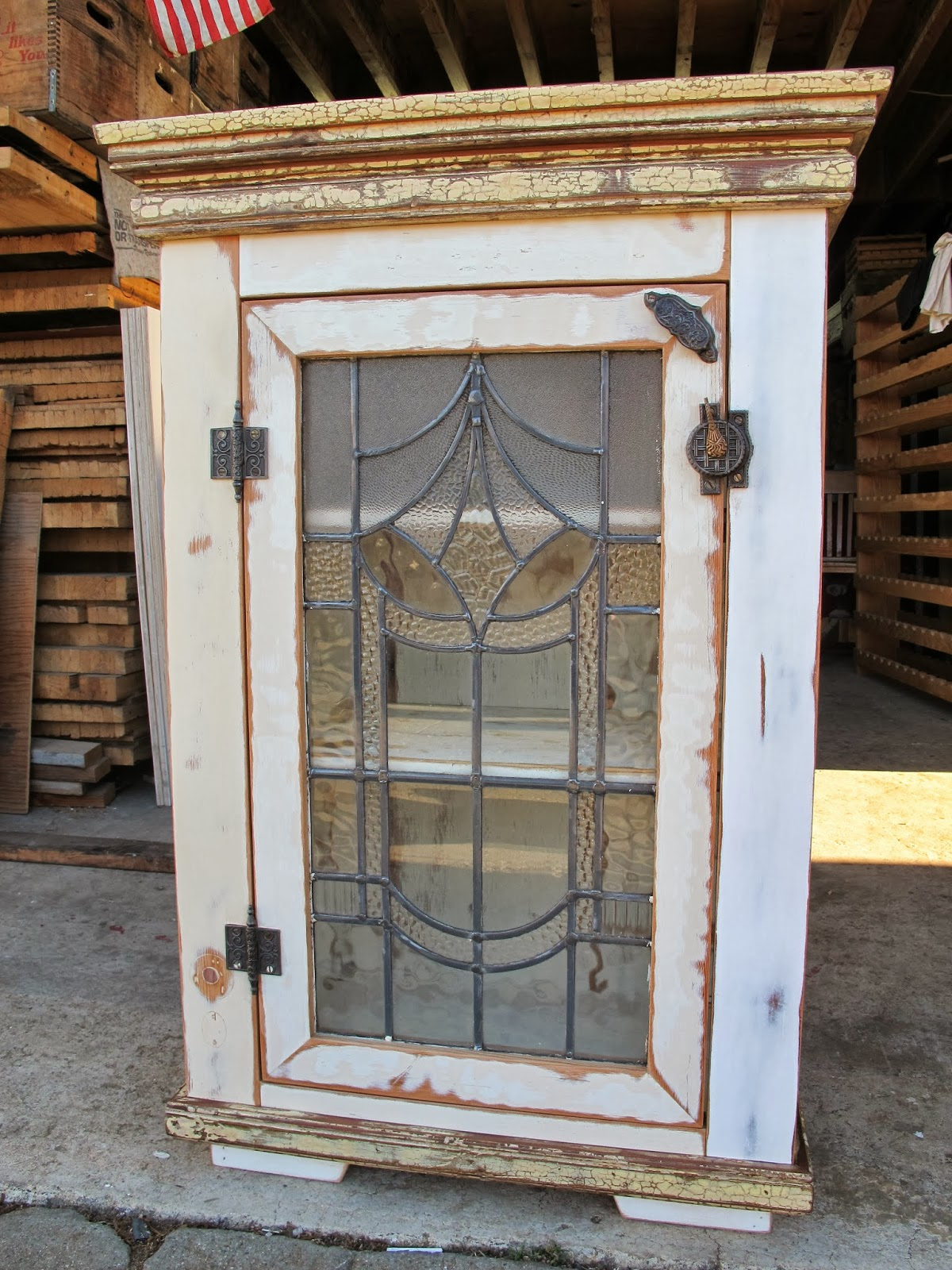Bryan appleton designs september 2013 - Cabinet made from old doors ...