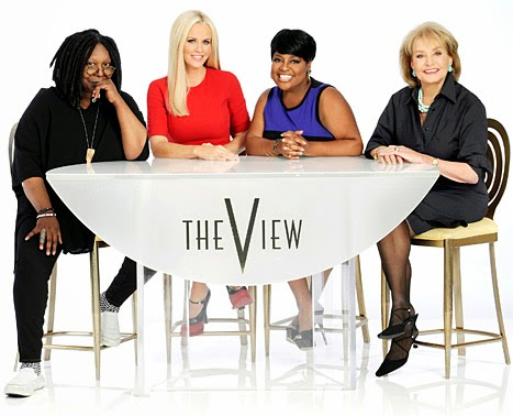 THE VIEW MY FAV TV SHOW.