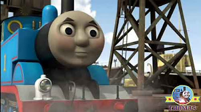 Thomas the tank engine tropical sea lobster color chubby cheeks red ruby paintwork Salty the train
