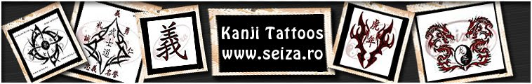 Kanji tattoos
