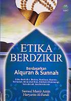 toko buku rahma: buku ETIKA BERDZIKIR, pengarang samsun munir amin, penerbit amzah