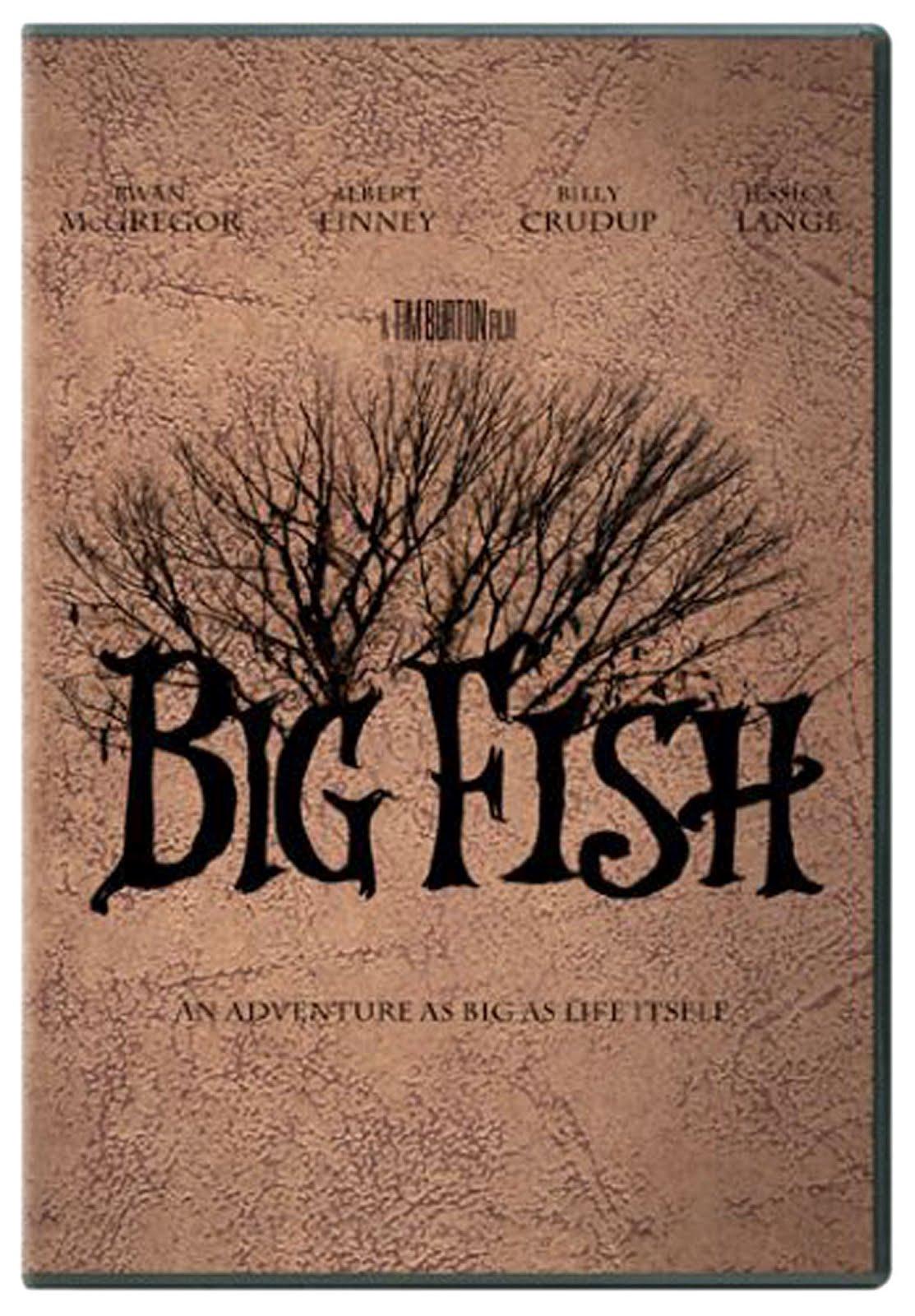 Big Fish Dvd Case Box