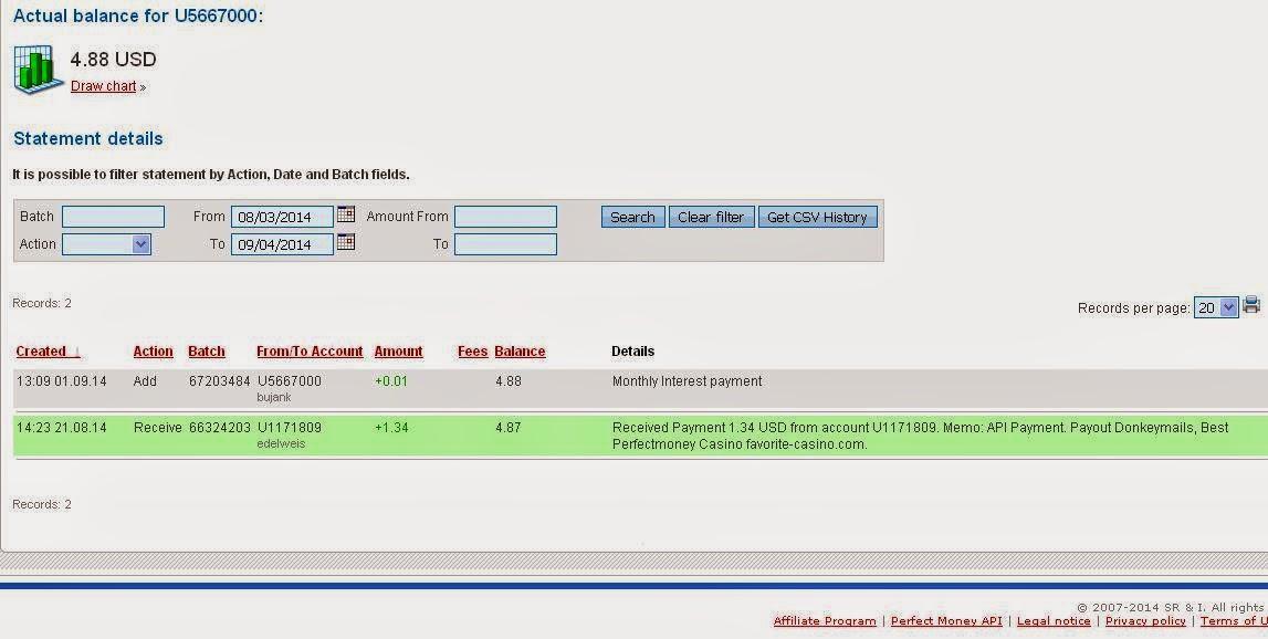 Bukti Pembayaran PTC Donkeymail 5
