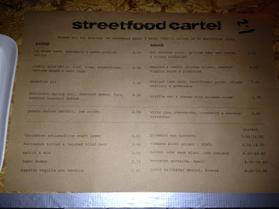 Street Food Cartel menu