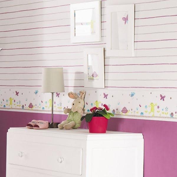Habitacion del futuro peque decorar tu casa es for Papeles vinilicos catalogo