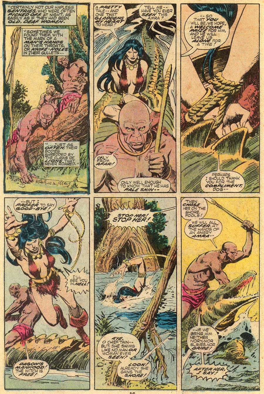 Conan the Barbarian (1970) Issue #61 #73 - English 10