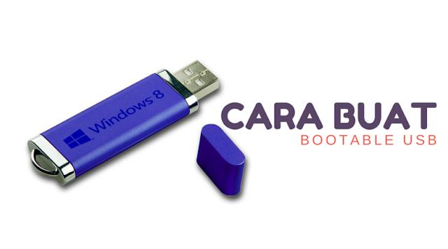 cara buat bootable USB