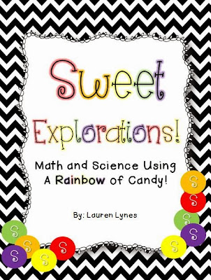 http://www.teacherspayteachers.com/Product/Sweet-Explorations-Math-Science-Using-a-RAINBOW-of-Candy-944788