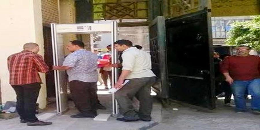 الدخول عبر البوابات الإلكترونية في كلية الحقوق جامعة الإسكندرية
