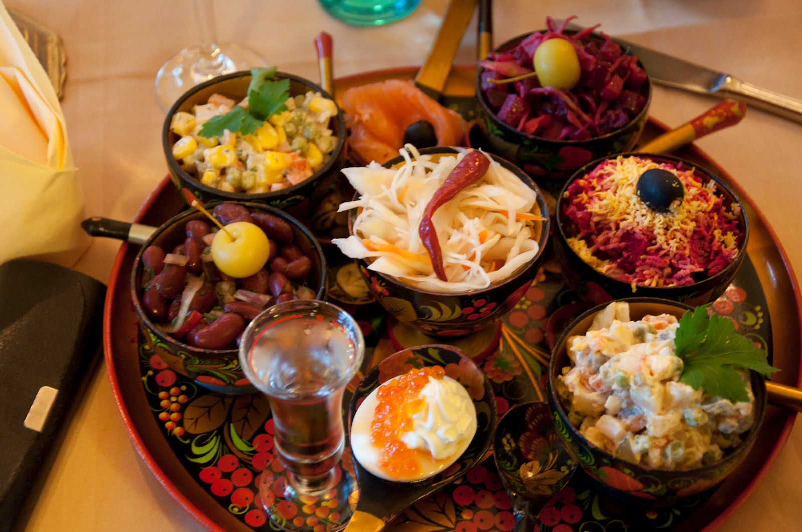 Life and luxury russian lunch for Authentic russian cuisine
