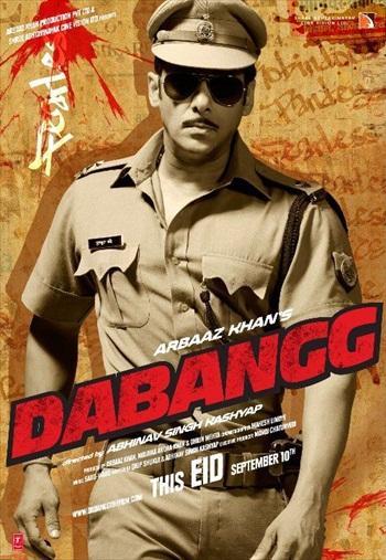 Dabangg 2010 Hindi 720p BluRay 1.1GB