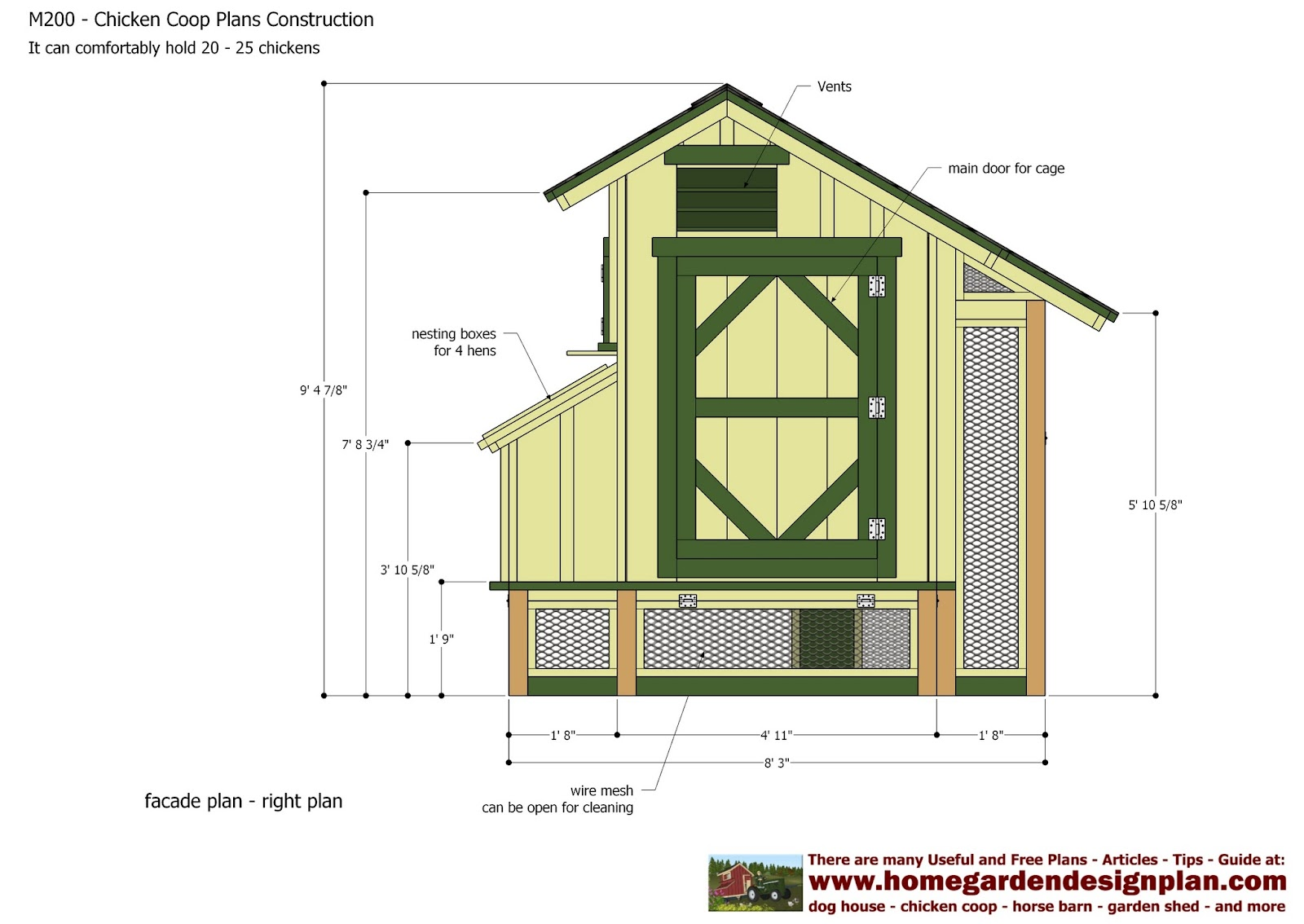 Coop adventure for Small chicken coop blueprints free