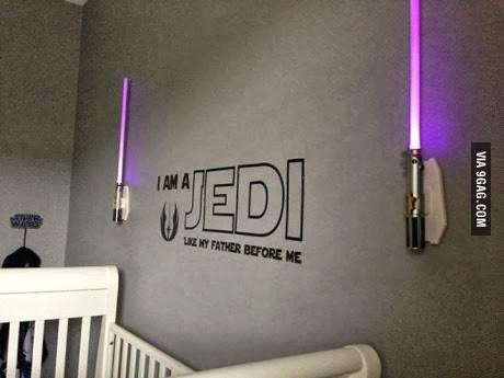 Decoración para Jedis Bebés
