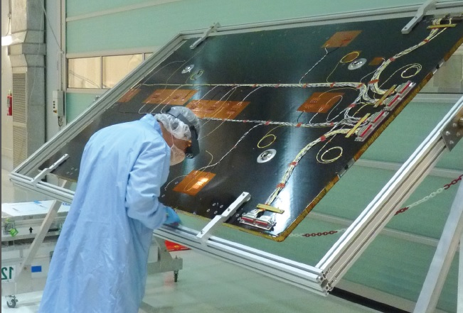 SAOCOM 1A y SAOCOM 1B - Satélites hechos en Argentina Panel