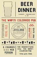 Loveland Aleworks Beer Dinner
